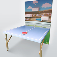 乒乓球遊戲 Table Tennis Game