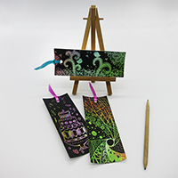 ±m¦â¨í¨í®��� Scratch Drawing Bookmark