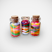 ¤�±m¨F¾ê Rainbow Sand Bottle