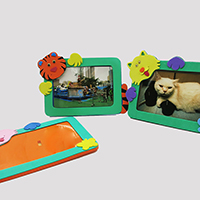 °�ª«ªw´�¬�®� Animal Foam Photo Frames